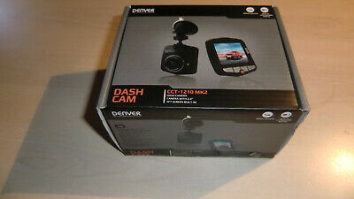 DASH CAM mit 2,4 TFT Screen ( Bildschirm ) Built In /  CCT - 1210 MK 2 / DENVER