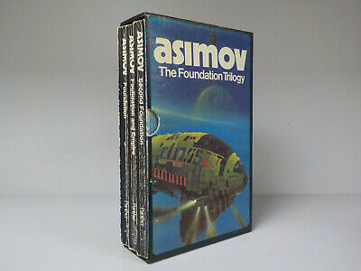 Isaac Asimov The Foundation Trilogy Box Set Panther 3 Books ID841