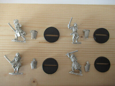 Games Workshop Citadel Lord of the Rings Lotr Uruk-Hai Scouts with Shield Metal