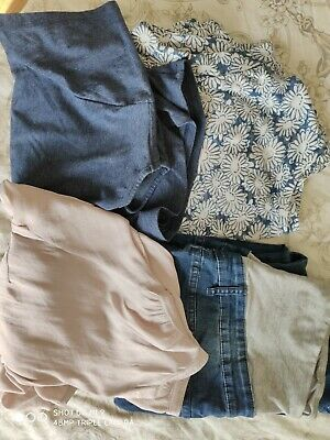 Maternity clothes size 12-14 bundle