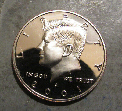 2001S Gem Proof Uncirculated Clad Kennedy Half Dollar