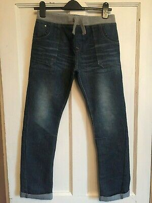 Boys Blue Elasticated Waist Denim Jeans from Blue Zoo Age 13 years