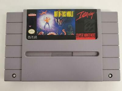 Super Nintendo - Out Of This World SNES - CARTRIDGE ONLY (HE2026230)