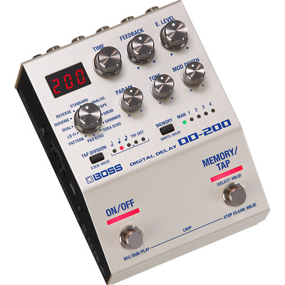 Boss DD200 Digital Delay Stompbox