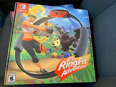 New and Sealed Ring Fit / RingFit Adventure-- Nintendo Switch, 2019, USA Seller