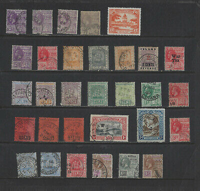 British Colonies--British Guiana--Collection-Mixed Periods-M-Used-Mnh-Vf-#2