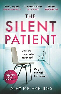 The Silent Patient by Alex Michaelides (New) Sunday Times Bestseller Paperback