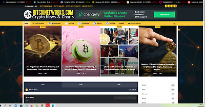 Crypto Currency w / 100% automated -Premium designed-