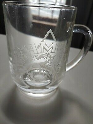 90s Vintage Joe Camel Cigarettes motorcycle joe Glass Beer Mug 1991
