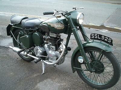 1955 Royal Enfield 250cc Clipper Matching Numbers