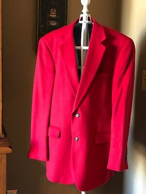 mens camel hair blazer. Jos. A. Banks. Red camel hair. EUC. Worn once. 42R