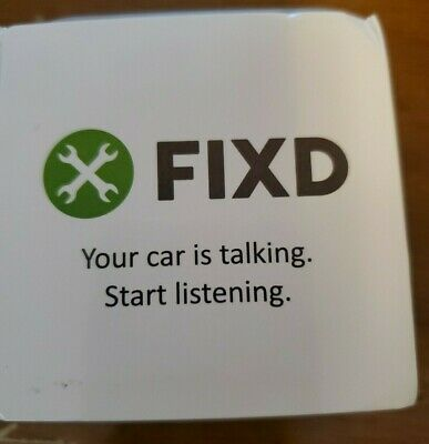 FIXD OBD-II 2nd Generation Active Car Health Monitor - unopened