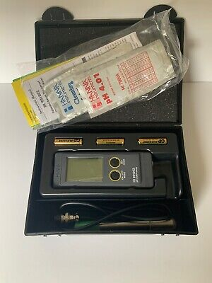 HANNA HI 991002 Portable Extended Range pH/ORP mV Meter with Titanium Electrode
