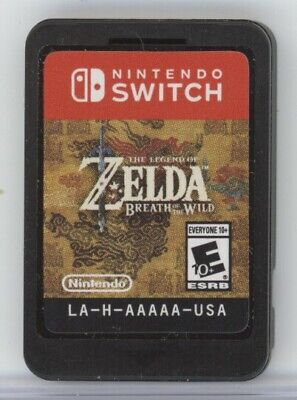 Nintendo Switch LEGEND OF ZELDA: BREATH OF THE WILD Video Game Cartridge (2017)