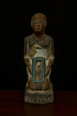 Rare EGYPT EGYPTIAN ANTIQUES STATUE Ptah God Hand 4.Kg STONE BC