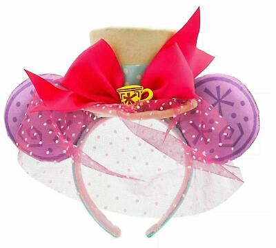 Minnie Mouse: The Main Attraction Ear Headband – Mad Tea Party (Limited)