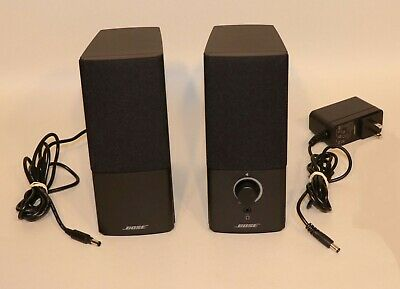 Bose Companion 2 Series III Multimedia Computer Speakers + 3.5mm Stereo Cable