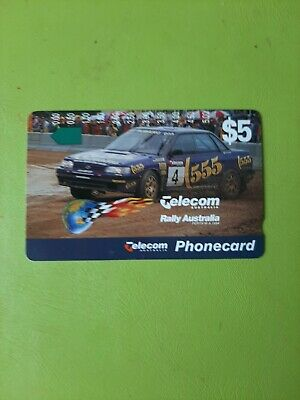 $5 1hole Phonecard  Rally AUSTRALIA  Prefix 569