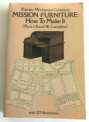 Mission Furniture How to Make It by Popular Mechanics (Paperback, 1980)
