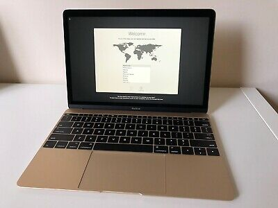 Apple MacBook 12 inch Laptop - 256GB - Gold - Like new condition