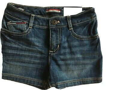 Tommy Hilfiger Kids size 4 Blue denim shorts NEW with tags. Straight, sits below