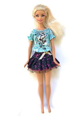 New Barbie doll clothes 2 piece outfit skirt & top summer set
