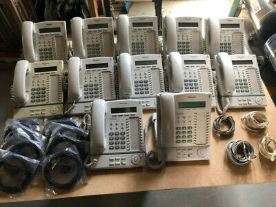 Office Business Phone System Panasonic 12 handsets + system all working.