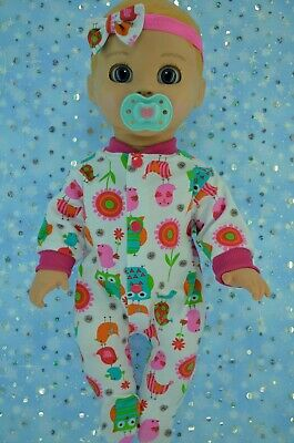 """PlaynWear Dolls Clothes For 17"""" Luvabella Doll PATTERNED STRETCH & GROW~HEADBAND"""