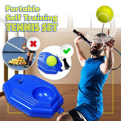1Pc Intensive Tennis Trainer Tennis Practice Single Self-Study Training Tool