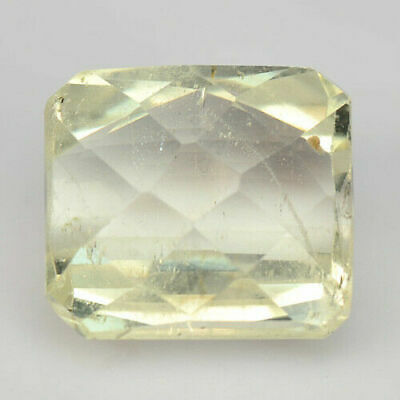 9.22 Ct NATURAL VERY LIGHT PINK KUNZITE FROM AFGHANISTAN UNHEATED