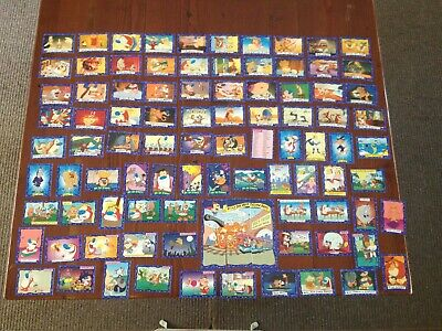"""1994 """" Ren And Stimpy """" Trading Cards. Almost complete & over 50 spares"""