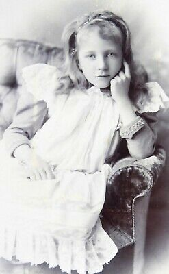 Large 1800s Victorian Cabinet Card Photograph by The Fine Art Studios