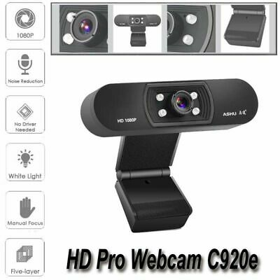 HD 1080P Digital USB Web Cam Camera Video Calling Teleconference Camera New