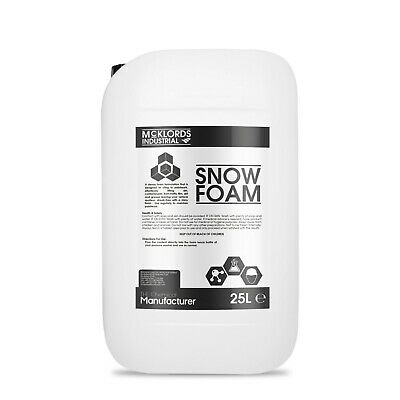 Snow Foam | High Foaming - Vehicle Cleaner Foam - (25 Litres)