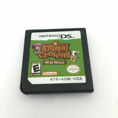 Animal Crossing: Wild World  (Nintendo DS,2005 ) für DS 3DS NDSi NDS Game Card