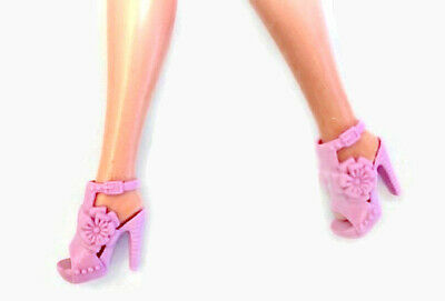 New Barbie doll clothes QUALITY SHOES 1 pair pink shoes accessories boots