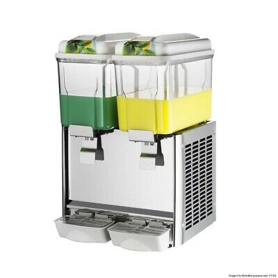 F.E.D Double Bowl Juice Dispenser Refrigerated Drink Dispensers