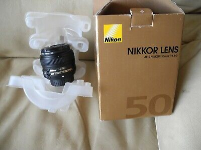 Nikkor AF-S 50mm F/1.8g Lens. Barely used.