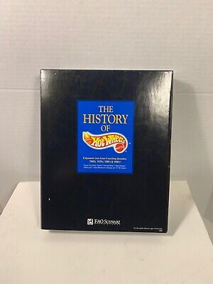 The History of HOT WHEELS  Limited Edition Collection - FAO Schwarz - New