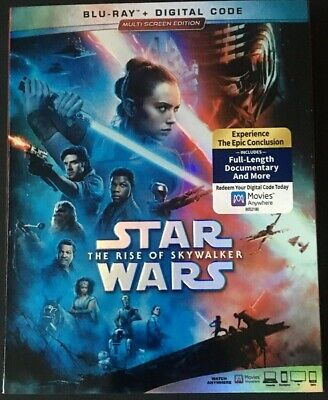 Star Wars:Rise Of Skywalker (Blu-ray set + Slipcover, No Digital) Like New