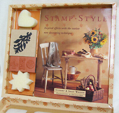 'Stamp Style' decorating book by Stewart and Sally Walton