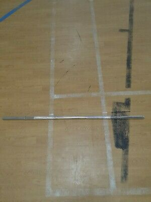 """1.2M  Weighted Straight Barbell. 6kg 1"""" NEW"""