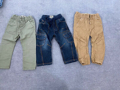 Boys Bundle Next Jeans Trousers Chino Age 12-18 Months Vgc