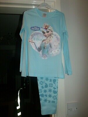 Girls Disney Frozen Pyjamas 7-8 Years