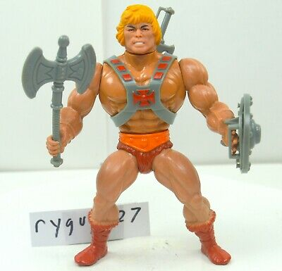 MOTU, He-Man, Masters of the Universe, vintage, complete, original, figure, 100%