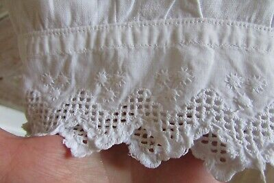 Antique French Split Crotch Sissy Knickers Panties Bloomers Soft Cotton c1900s
