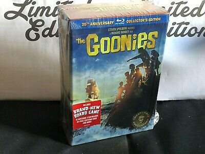 I GOONIES 25° anniversary collector's edition-cofanetto BLU RAY+GADGET