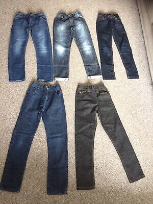 5 Pairs Of Next Boys Jeans 👖 Age 11. Great Condition