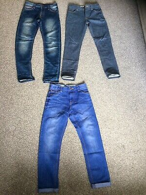 3 Pairs Of Boys Next Jeans 👖 Age 12. Great Condition