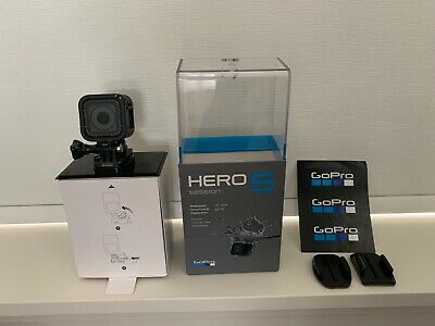 GoPro HERO5 Session 4K 10MP HD Action Camera Hero 5 w/ Voice Control & Cage